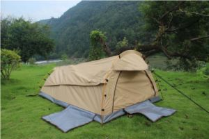 Aluminium Pole Waterproof Canvas Outdoor Camping Swag pictures & photos