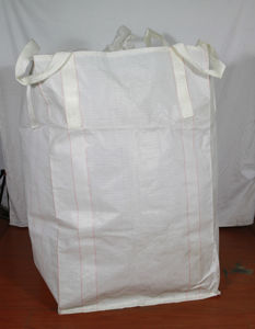 White Fabric PP FIBC Big Woven Bag pictures & photos