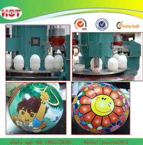 1-4 Colors PVC Ball Pad Printer pictures & photos