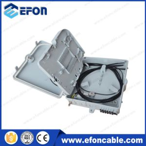 Fdb Waterproof 8 Core PLC Splitter Fiber Optic Distribution Box for Pole pictures & photos