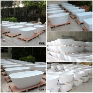 Freestanding Bath Tub Stone Resin Solid Surface Bathtub pictures & photos