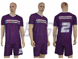 High Quality Stylish Mens 100% Polyester Sublimation Sportswear Soccer Jersey pictures & photos