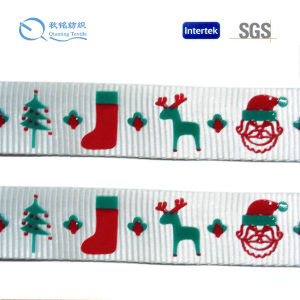 High Quality Factory Trademark Printed Webbing pictures & photos