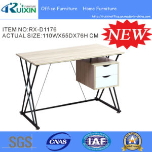 Simple Ergonomic Office Table with Small Cabinet (RX-D1176)