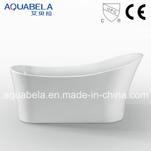 Cupc Approved Acrylic Freestanding Soaking Hot Tub Bathtub (JL605) pictures & photos