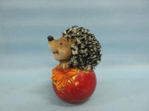 Apple Hedgehog Shape Ceramic Crafts (LOE2535-C12) pictures & photos