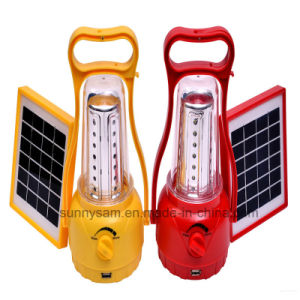 Portable Emergency Rechargeable LED Solar Camping Lighting for Outdoor Use pictures & photos