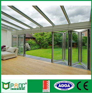 Double Glazed Aluminium Windows and Doors Comply with Australian Standards As2047 As2208 Bi Folding Doors pictures & photos