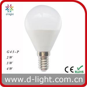 G45p E14 3W LED Bulb 240lm 2700k 4200k 6500k