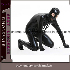 Wholesale Men Catsuit Adult Party Costume (TLQZ14278) pictures & photos