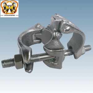Scaffolding Italy Type Coupler, Forged and Pressed Straight Coupler pictures & photos