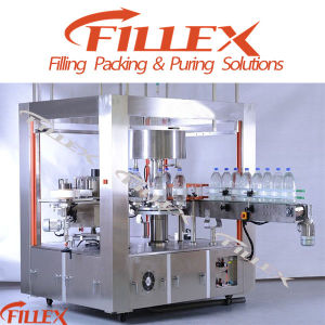 Rotary Type Hot Glue Labeling Machine for 5L Bottle pictures & photos