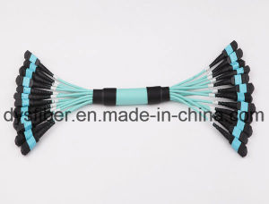 12/24/48/144 Core MPO/MTP Fiber Optic Trunk Patchcord pictures & photos