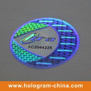 2D DOT Matrix Laser Custom 3D Hologram Sticker pictures & photos
