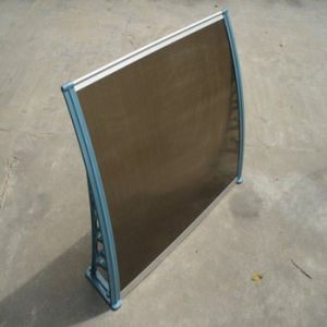 Polycarbonate Awning for Window and Door Polycarbonate Sheet pictures & photos