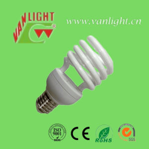 Half Spiral T2-13W CFL Bulb, Energy Saving Lamp pictures & photos