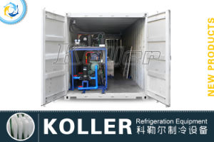 Containerized Block Ice Plant/Machine 5 Ton Per Day pictures & photos