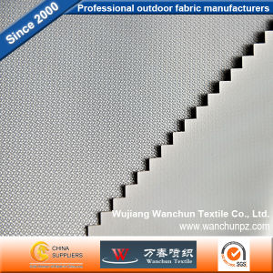 Polyester 420d Stripe Fabric with PVC Coated for Bag Tent
