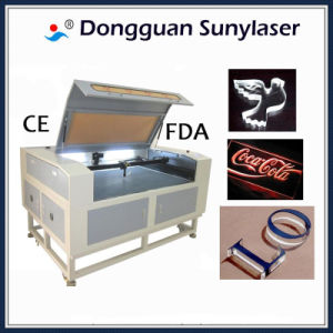 Perfect Cutting Results Acrylic Laser Cutter with CE FDA pictures & photos