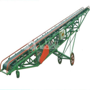 Industrial Inclined Belt Conveyor with ISO9001