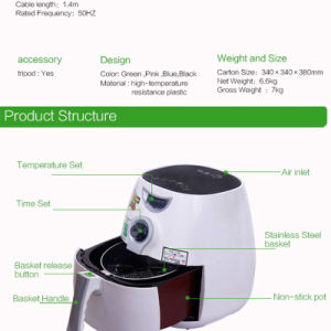 2017 Electric Fryer Mini Electric Deep Fryer pictures & photos