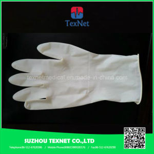 Powder/Powder Free Surgical Latex Examination Gloves pictures & photos