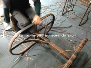 Two Colors Synthetic Rattan Extrusion Machine pictures & photos