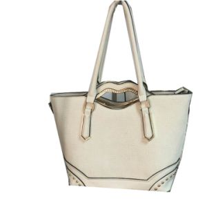 Mnufacture Fashion Design Woman Leather Bag pictures & photos
