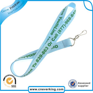 Multi Colors New Trend Polyester Lanyard with J Hook pictures & photos