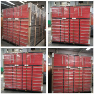 Cabinet Type Iron Heavy Duty Workshop Tool Storage Cabinets pictures & photos