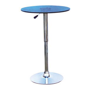 Modern Popular Design Home Furniture Plastic Round Bar Table (FS-410) pictures & photos