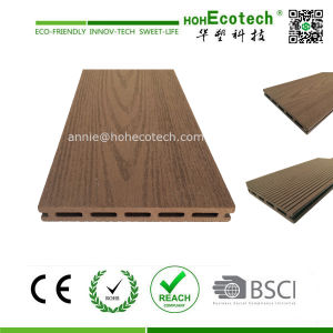 No Crack Wood Like Terrace Decking WPC Flooring (100*17) pictures & photos