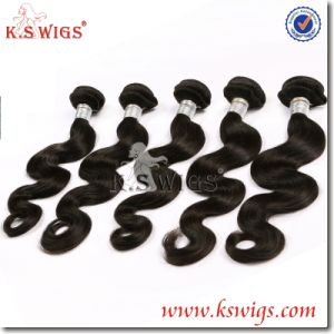 Factory Wholesale Virgin Remy Indian Human Hair Weaving pictures & photos