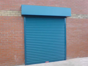 Industrial Steel Rolling Door, Commercial Steel Rolling Door, Residential Steel Rolling Door pictures & photos