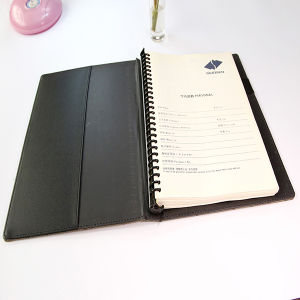 Soft Cover Wire-O Note Book with Spiral Binding Book Printing pictures & photos