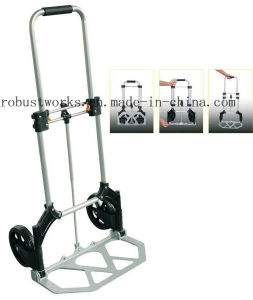 Foldable Aluminium Hand Trolley (HT022) pictures & photos