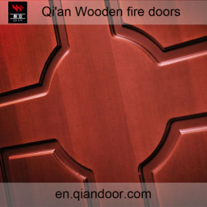 Solid Core Hard Wood Fire-Rated Door pictures & photos