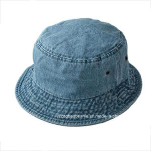 Promotional High Quality Custom Blank Jean Bucket Hat pictures & photos