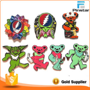 Factory Sale Grateful Dead Pin Custom Enamel Badges pictures & photos