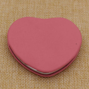 Cheapest Metal Aluminium Round Makeup/Compact/Cosmetic/Pocket Mirror with Custom Logo pictures & photos