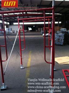 Door Scaffolding Walk Through Scaffolding Main Frame pictures & photos