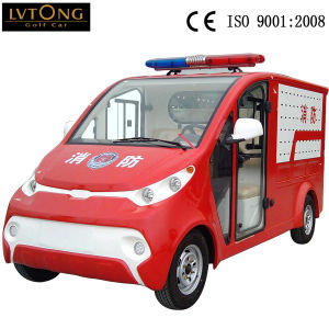 Lvtong 2 Seaters Mini Battery Fire Fight Truck pictures & photos