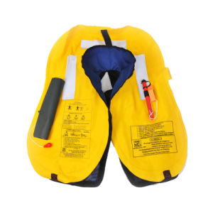 Single/Double Air Chamber Inflatable Life Jacket pictures & photos