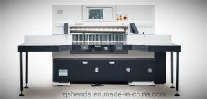 Computerized Paper Cutting Machine (SQZ-115CTN KL) pictures & photos
