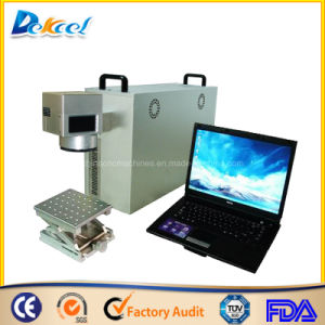 Jewelry Laser Marking Machine Fiber 30W with 80mm Rotary pictures & photos