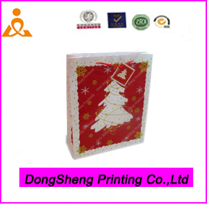 Wholesale Christmas Paper Gift Packing Bag From China Manufacturer