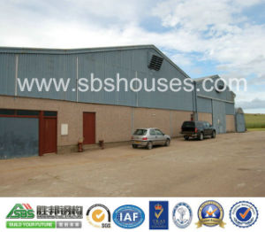 Long Span Prefabricated Building with Steel Sheet pictures & photos