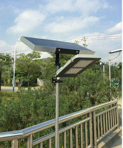 30W Seperated Solar Street Light Green Lighting pictures & photos