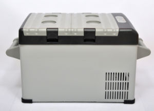 Novel Portable Car Refrigerator 25 Liter DC12/24V with AC Adaptor (100-240V) for Outdoor Activity Use pictures & photos