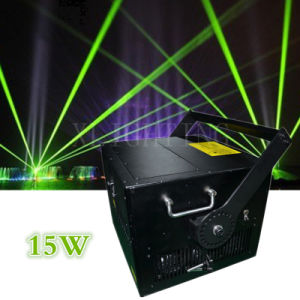 Hot Sell Full Color RGB 15W Disco Laser Light pictures & photos